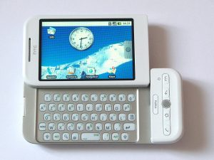 first Smart phone with Android OS in the world facts articles