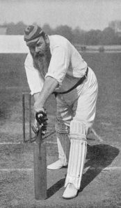 First-class cricket-W. C. Grace-facts-articles first half century