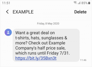 example-text-on-phone-facts-articles