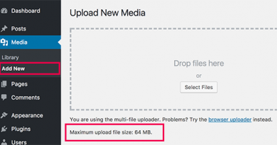 wordpress maximum upload file size increase facts articles